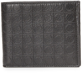 Salvatore Ferragamo Gamma Leather Bi Fold Wallet
