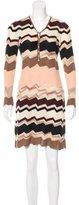 Missoni Patterned Sweater Dress