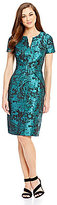 Antonio Melani Heidi Jacquard Sheath Dress