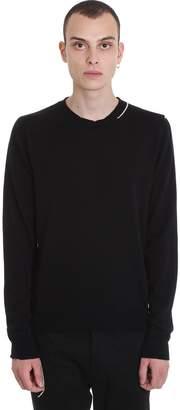 Mauro Grifoni Knitwear In Black Wool