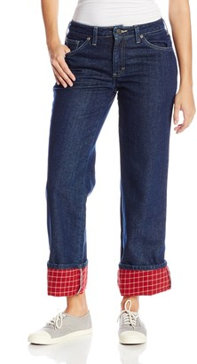 Dickies Women's Flannel Lined Jean
