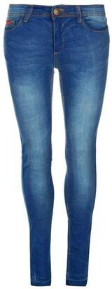 Lee Cooper Skinny Hem Jeans Ladies