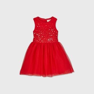 Cat & Jack Toddler Girls' Sequin Tank Top Dress - Cat & JackTM