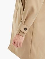 Marni Beige Silk-blend Oversized Coat