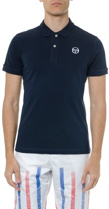 Sergio Tacchini White Cotton Logo Polo Shirt