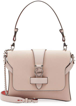Christian Louboutin Ruby Lou Medium Calf Empire Shoulder Bag