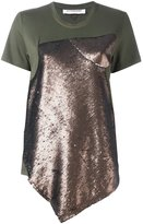 A.F.Vandevorst 'Flute' T-shirt - women - Polyester/Spandex/Elastane/Rayon - S