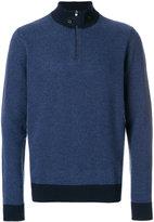 Hackett classic roll-neck sweater