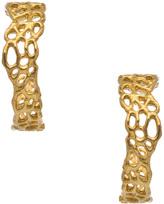 Carriere Amery Designs Chrysalis Hoop Earrings