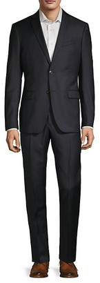 John Varvatos Slim-Fit Tonal Stripe Suit
