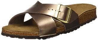 Birkenstock Siena, Women's Heels Open Toe Sandals,(38 EU)