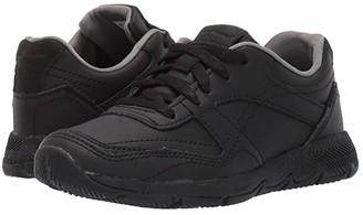 Hush Puppies Kids Zev TS Field (Little Kid/Big Kid) (Black/Black) Boy's Shoes