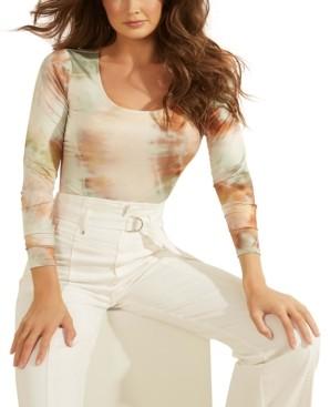 GUESS Tati Tie-Dyed Bodysuit