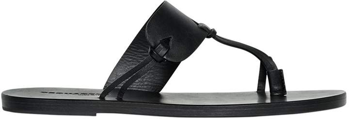 DSQUARED2 10mm Leather Sandals