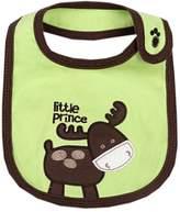 "Panda Superstore Lovely Donkey Cotton/PVC Adjustable Waterproof Baby Bib Pocket Bib 6*12"""