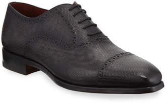Magnanni Men's Textured Lace-Up Dress Shoes