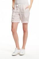 Cp Shades Ditsy Printed Linen Bermuda Shorts