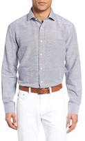 Maker & Company Men's Cotton & Linen Sport Shirt