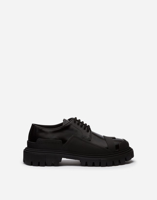 Dolce & Gabbana Patent Leather Trekking Derby