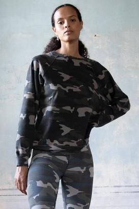Rag Doll Ragdoll - Vintage Sweatshirt Army Camo - small