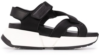 MM6 MAISON MARGIELA Platform Touch Strap Sandals