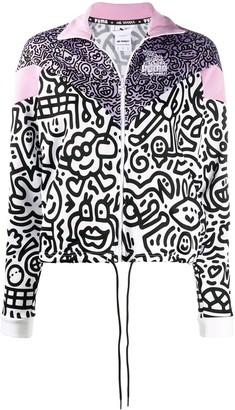 Puma x Mr Doodles zipped jacket