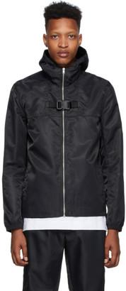 Alyx Black Zip-Up Windbreak Jacket