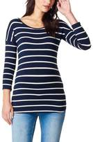 Noppies Lila Stripe Maternity Tee