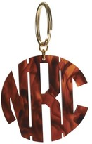The Well Appointed House Round Acrylic Block Monogram Keychain