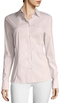 Escada Cotton Flared Blouse