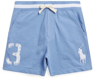 Ralph Lauren Kids Numbered Polo Pony Shorts (2-4 Years)