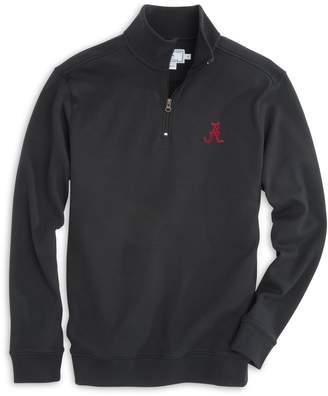 Southern Tide Alabama Crimson Tide Cotton Quarter Zip Pullover