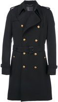 Dolce & Gabbana double breasted coat - men - Cotton/Polyester/Virgin Wool - 50