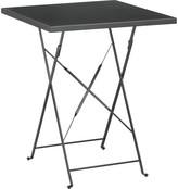 Grange 2 seat metal folding garden table