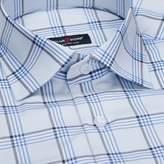 _Men's shirt - Berlin, black and blue