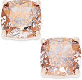 Kate Spade Speckled Stone Square Stud Earrings