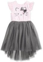 Hello Kitty Embroidered Ballerina Dress, Little Girls