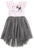 Hello Kitty Embroidered Ballerina Dress, Toddler Girls (2T-5T)