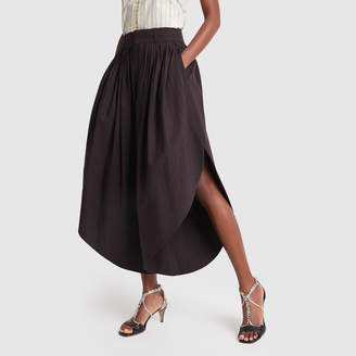 Chloé Pleated Culottes Pants