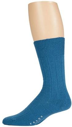 Falke Lhasa Rib Sock (Frost) Men's Crew Cut Socks Shoes