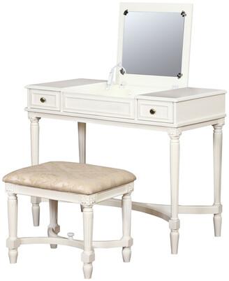 Linon Cyndi Vanity Set