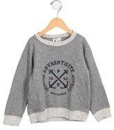 Petit Bateau Boys' Knit Logo Sweatshirt