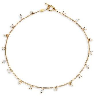 Gas Bijoux Tangerine Beaded Coller Necklace