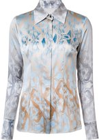 Sophie Theallet abstract print shirt - women - Silk - 6