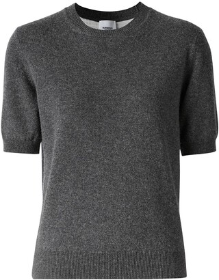 Burberry Short-Sleeve Knitted Top