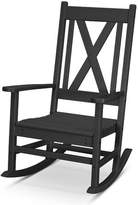 Polywood Braxton Rocking Chair Color: Black