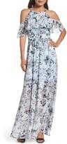 Vince Camuto Petite Women's Popover Maxi Dress
