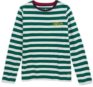 Boden Mini Harry Potter Hogwarts House Breton Stripe T-Shirt