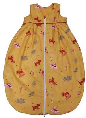 Camilla And Marc Tavolinchen 35/225/70 Baby Sleeping Bag Terry Circus Design 70 cm Orange