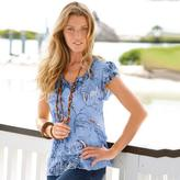 Togther Print Tunic With Camisole Set